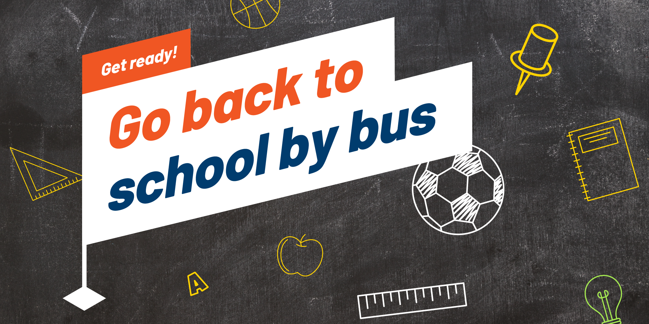 Go back to school by bus