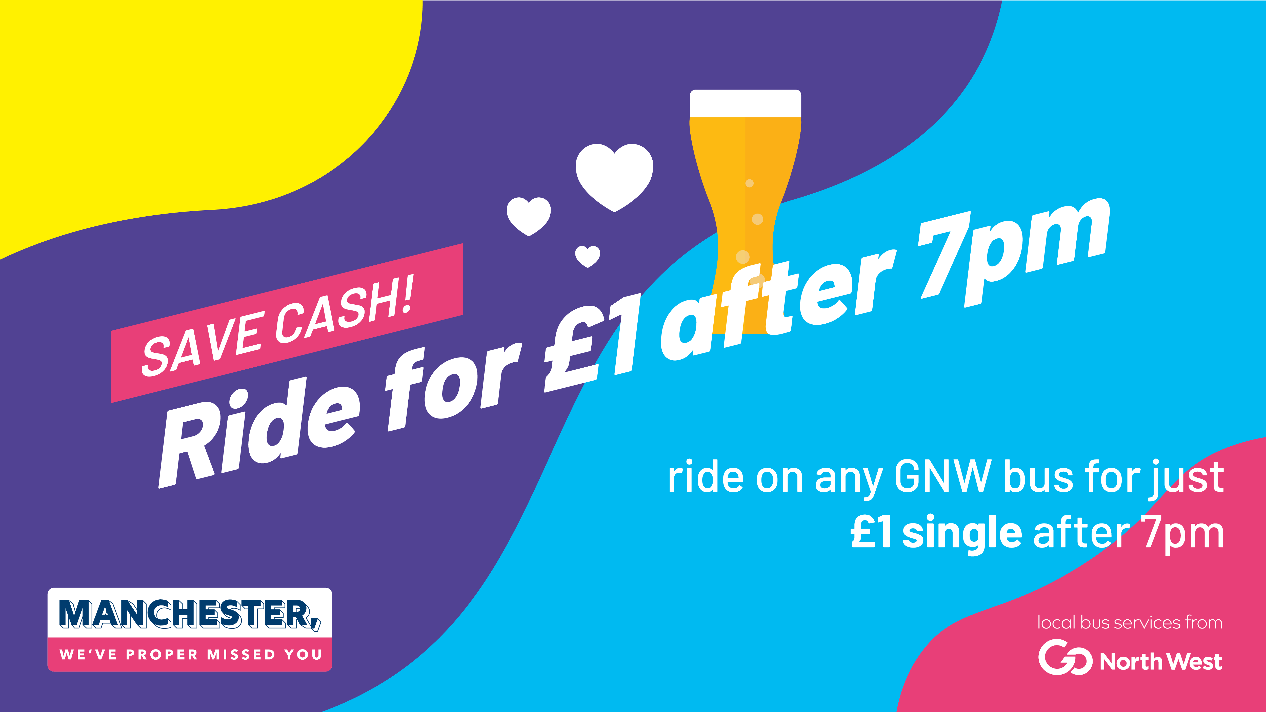 Ride for £1 after 7pm