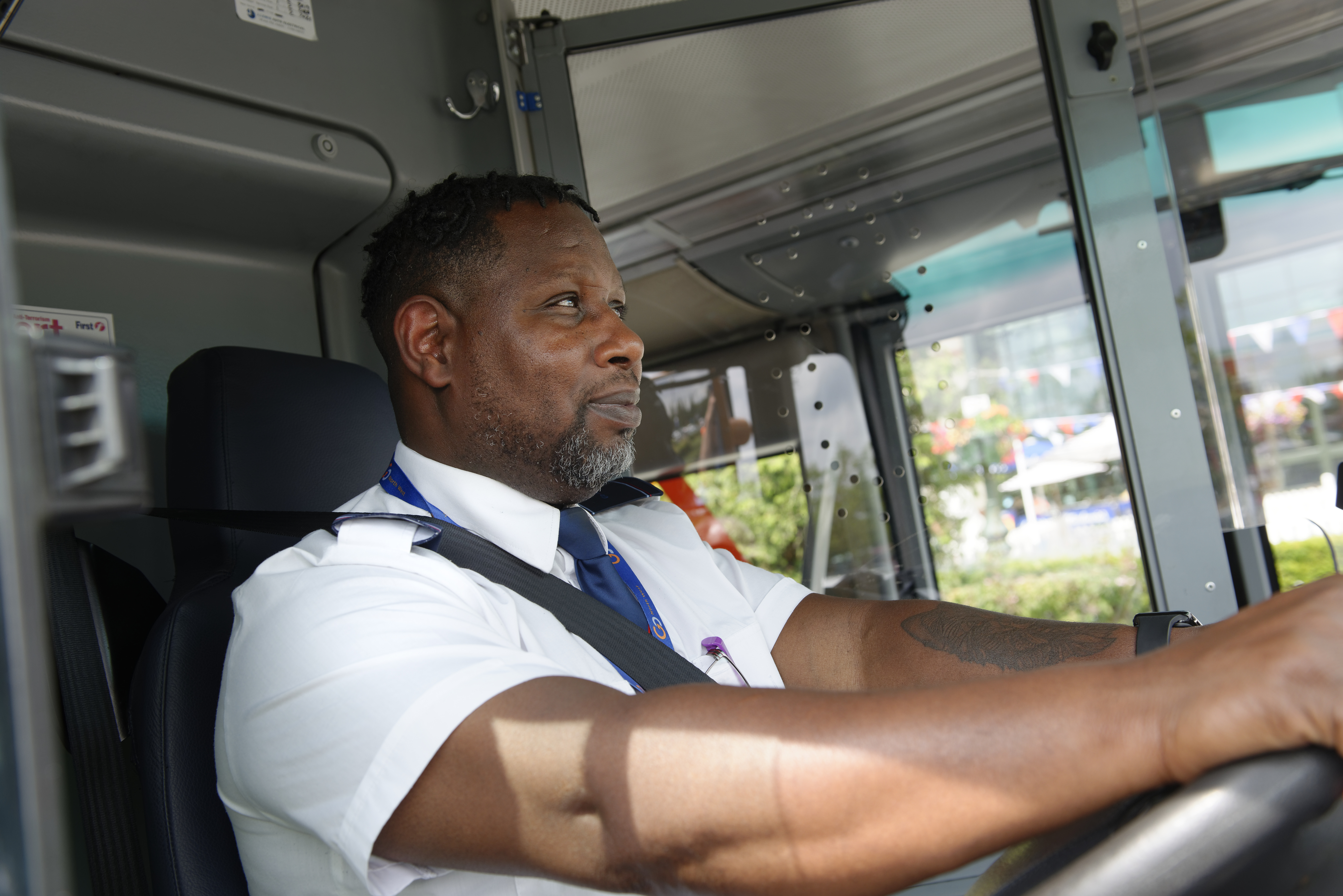 Go North West bus driver
